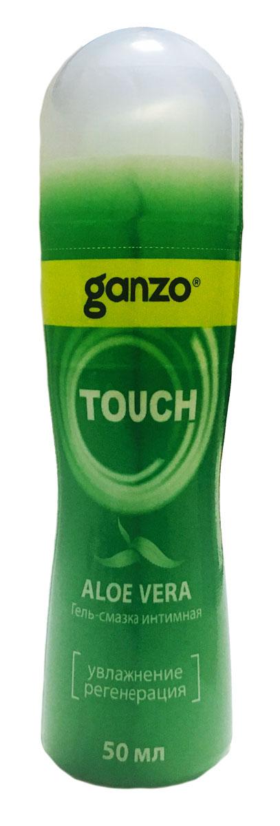 Ganzo Лубрикант Aloe, 50 мл bioritm intim bluz 50 мл анальная смазка на водной основе