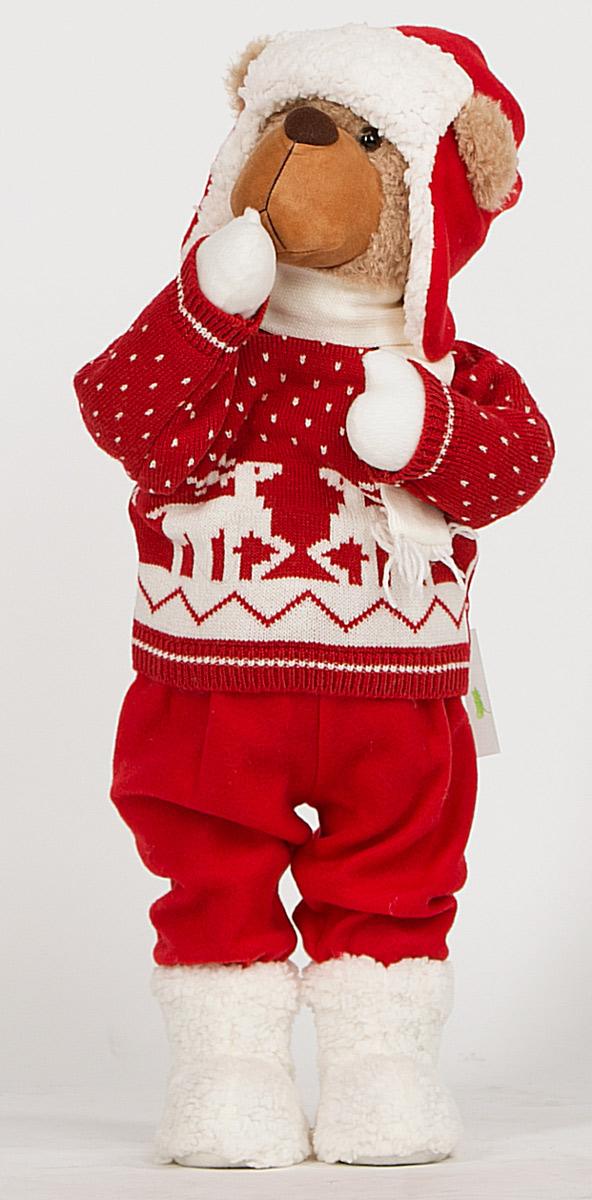 Фигурка новогодняя Estro, высота 70 см. C21-281027C21-281027Декоративная фигурка Estro изготовлена из высококачественных материалов в оригинальном стиле. Фигурка выполнена в виде медведя в зимней одежде.Уютнаяи милая интерьерная игрушка предназначена для взрослых и детей, для игр и украшения новогодней елки, да и просто, для создания праздничной атмосферыв интерьере! Фигурка прекрасно украсит ваш дом к празднику, а в остальные дни с ней с удовольствием будут играть дети. Оригинальный дизайн и красочное исполнение создадут праздничное настроение. Фигурка создана вручную, неповторима и оригинальна. Порадуйте своих друзей и близких этим замечательным подарком!