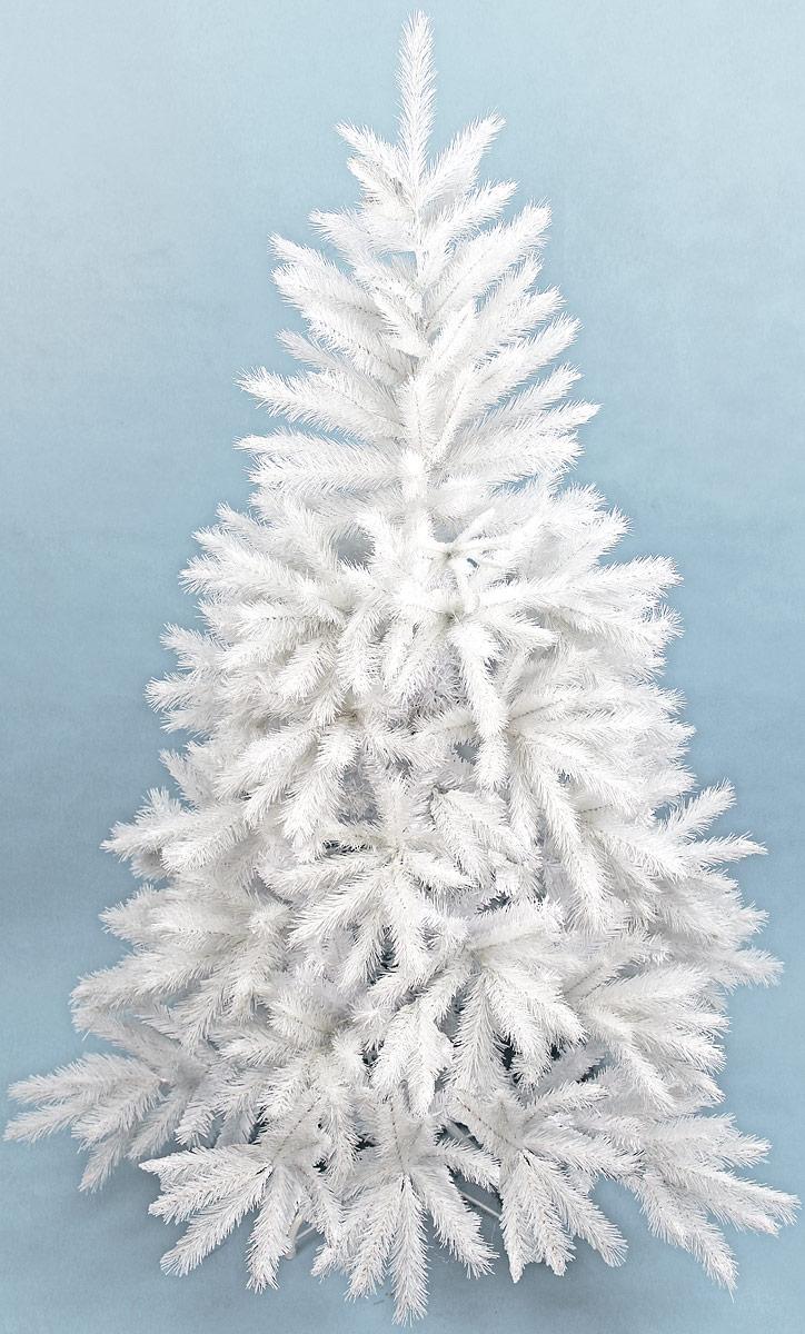 Сосна искусственная Beatrees White Crystal, напольная, высота 190 см1020219Искусственная сосна Beatrees White Crystal - это прекрасный вариант для оформления интерьера к Новому году. Остается только собрать и нарядить красавицу. Она абсолютно безопасна, удобна в сборке и не занимает много места при хранении. Это пышная сосна с искрящимися иголочками. У этой сосны пушистые ветки, нежно-белая крона со стройным классическим силуэтом. Кончики нежно-белой хвои припорошены едва заметным серебристым инеем, который придает облику новогоднего дерева эффект инея на ветвях и зимнее очарование. Благодаря посеребренным кончикам веток крона сосны как будто высвечивается изнутри. Дерево выглядит очень нарядно. Эта элитная модель искусственной сосны удовлетворит самый взыскательный вкус и украсит любое новогоднее торжество.