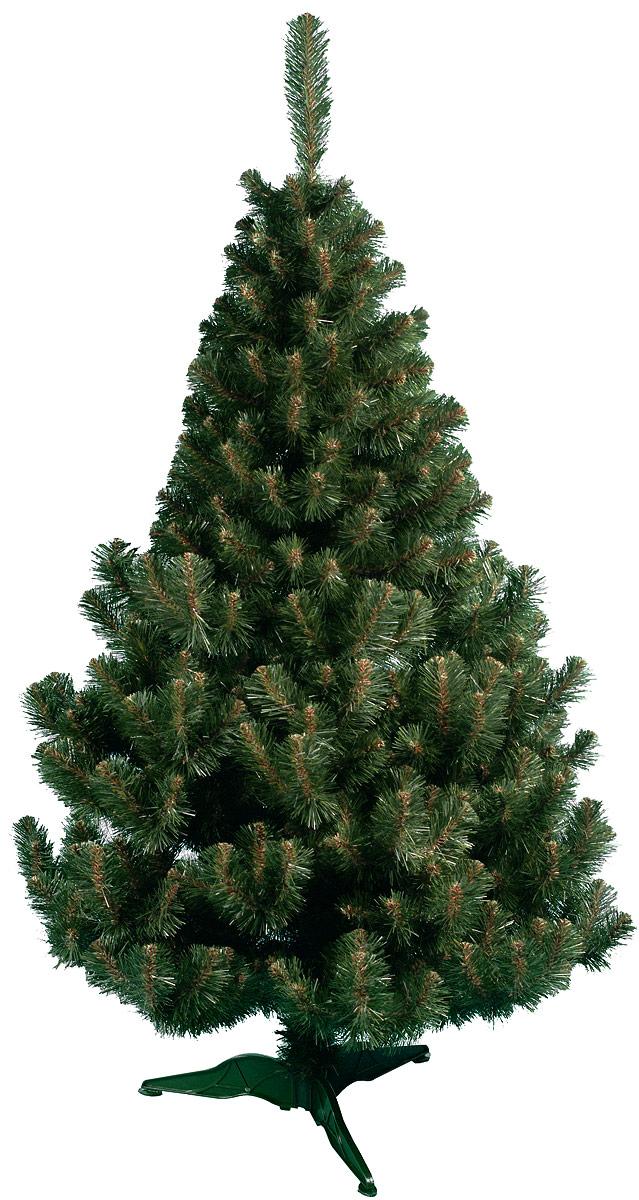 Ель искусственная Morozco Рождественская, напольная, высота 120 см812/0812Искусственная ель Рождественская, выполненная из ПВХ и пластика, - прекрасный вариант для оформления вашего интерьера к Новому году. Такие деревья абсолютно безопасны, удобны в сборке и не занимают много места при хранении.Ель состоит из верхушки, ствола и устойчивой подставки. Ель быстро и легко устанавливается и имеет естественный и абсолютно натуральный вид, отличающийся от своих прототипов разве что совершенством форм и мягкостью иголок.Еловые иголочки не осыпаются, не мнутся и не выцветают со временем. Полимерные материалы, из которых они изготовлены, нетоксичны и не поддаются горению. Ель Morozco обязательно создаст настроение волшебства и уюта, а также станет прекрасным украшением дома на период новогодних праздников.