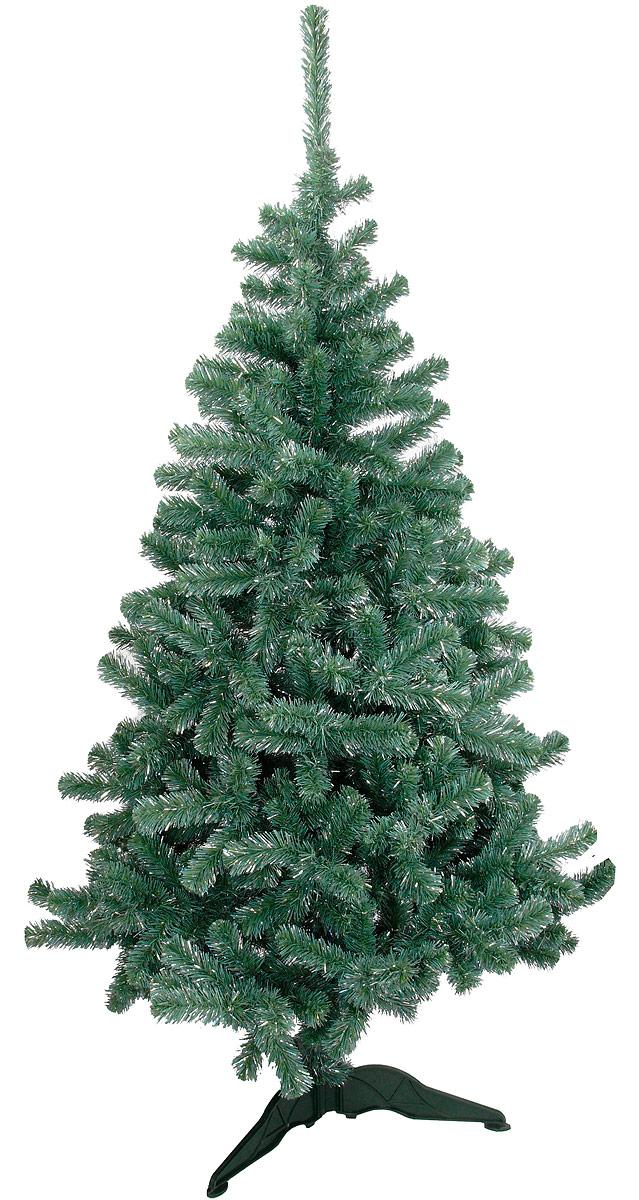 Ель искусственная Morozco Хрустальная, высота 120 см2512Искусственная ель Хрустальная - прекрасный вариант для оформления вашего интерьера к Новому году. Такие деревья абсолютно безопасны, удобны в сборке и не занимают много места при хранении.Ель состоит из верхушки, сборного ствола и устойчивой подставки. Ель быстро и легко устанавливается и имеет естественный и абсолютно натуральный вид, отличающийся от своих прототипов разве что совершенством форм и мягкостью иголок.Еловые иголочки не осыпаются, не мнутся и не выцветают со временем. Полимерные материалы, из которых они изготовлены, не токсичны и не поддаются горению. Ель Morozco обязательно создаст настроение волшебства и уюта, а также станет прекрасным украшением дома на период новогодних праздников.