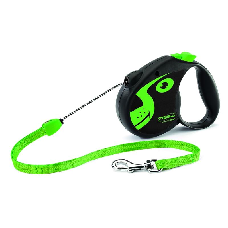 Поводок-рулетка Triol Colour Dog, длина 5 м. Размер S поводок рулетка triol colour dog длина 5 м размер s