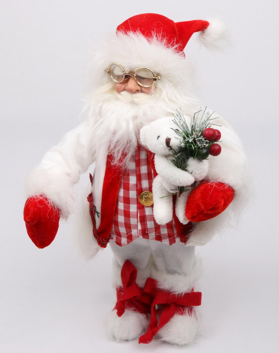 Кукла Estro, цвет: красный, высота 45 см. C21-181103C21-181103Кукла создана вручную, неповторима и оригинальна.Порадуйте своих друзей и близких этим замечательным подарком!