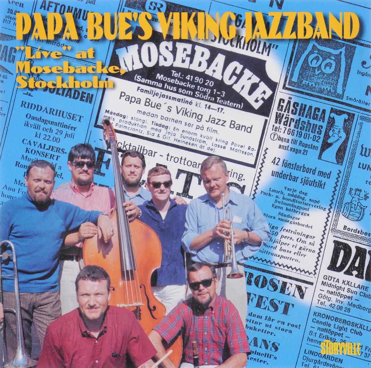 Papa Bue's Viking Jazz Band Papa Bue's Viking Jazzband. Live At Mosebacke, Stockholm stockholm 65 12 30