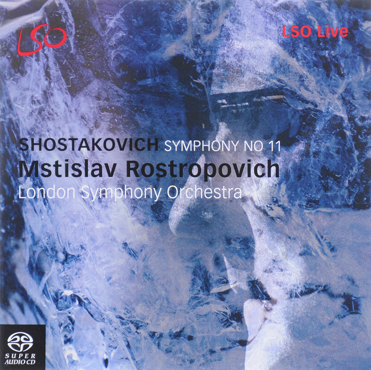 Мстислав Ростропович Mstislav Rostropovich. Shostakovich. Symphony No. 11 (SACD) 2017 new 30pcs set car tie clips organizer drop adhesive clamp wire cord clip cable holder