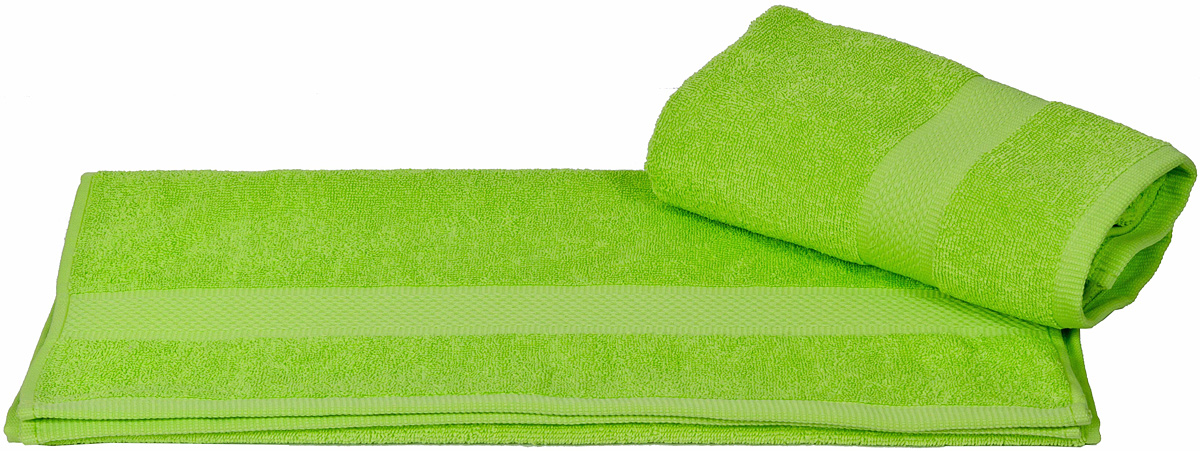 Полотенце Hobby Home Collection Beril, цвет: зеленый, 100 х 150 см1501000382Полотенце Hobby Home Collection Beril выполнено из 100% хлопка. Изделие отлично впитывает влагу, быстро сохнет, сохраняет яркость цвета и не теряет форму даже после многократных стирок. Такое полотенце очень практично и неприхотливо в уходе. А простой, но стильный дизайн полотенца позволит ему вписаться даже в классический интерьер ванной комнаты.