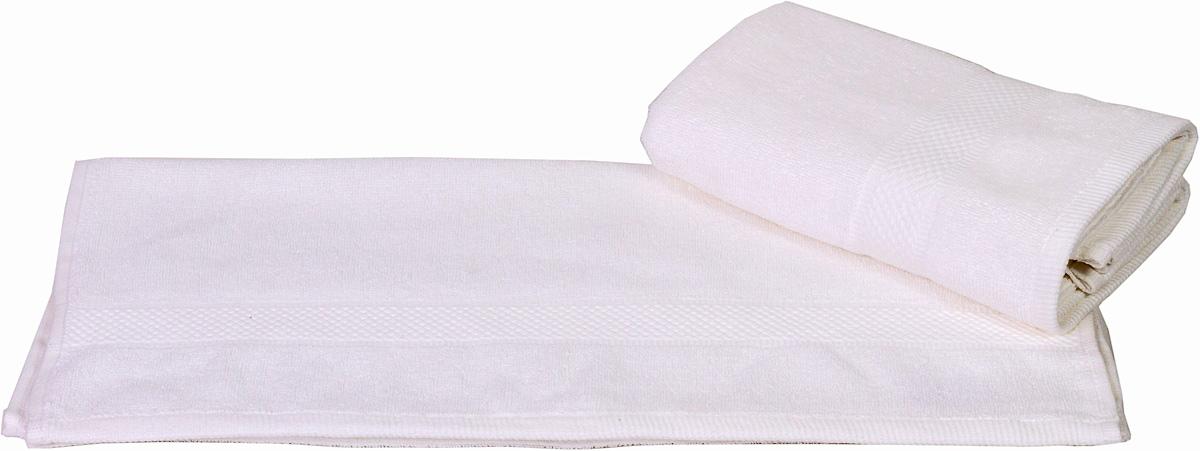 Полотенце Hobby Home Collection Beril, цвет: белый, 50 х 90 см1501000387Полотенце Hobby Home Collection Beril выполнено из 100% хлопка. Изделие отлично впитывает влагу, быстро сохнет, сохраняет яркость цвета и не теряет форму даже после многократных стирок. Такое полотенце очень практично и неприхотливо в уходе. А простой, но стильный дизайн полотенца позволит ему вписаться даже в классический интерьер ванной комнаты.
