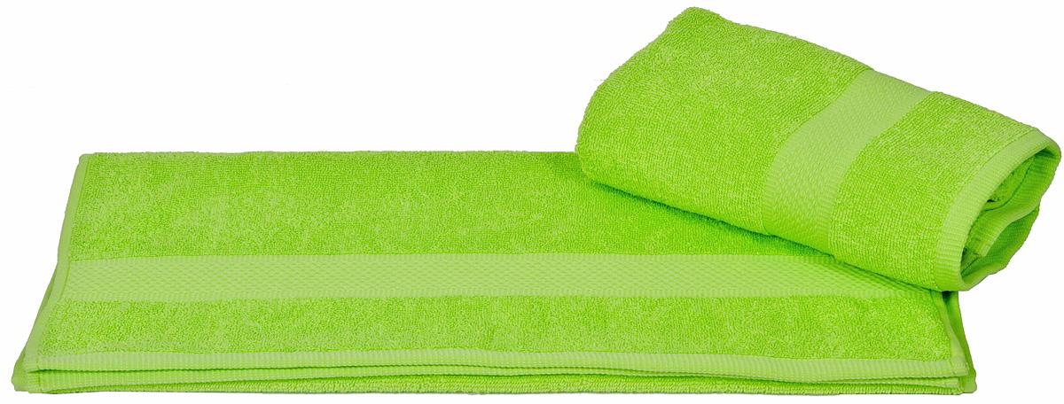 Полотенце Hobby Home Collection Beril, цвет: зеленый, 50 х 90 см1501000390Полотенце Hobby Home Collection Beril выполнено из 100% хлопка. Изделие отлично впитывает влагу, быстро сохнет, сохраняет яркость цвета и не теряет форму даже после многократных стирок. Такое полотенце очень практично и неприхотливо в уходе. А простой, но стильный дизайн полотенца позволит ему вписаться даже в классический интерьер ванной комнаты.