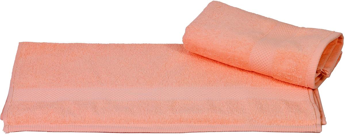 Полотенце Hobby Home Collection Beril, цвет: персиковый, 50 х 90 см1501000393Полотенце Hobby Home Collection Beril выполнено из 100% хлопка. Изделие отлично впитывает влагу, быстро сохнет, сохраняет яркость цвета и не теряет форму даже после многократных стирок. Такое полотенце очень практично и неприхотливо в уходе. А простой, но стильный дизайн полотенца позволит ему вписаться даже в классический интерьер ванной комнаты.