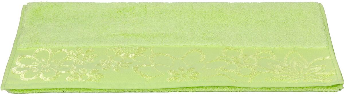 Полотенце махровое Hobby Home Collection Dora, цвет: зеленый, 70 х 140 см1501000449Махровое полотенце Hobby Home Collection Dora уникально и разрабатывалось эксклюзивно для данной марки. При его создании использовались самые высокотехнологичные ткацкие приемы. Полотенце украшено изысканным декором. Выполнено из махровой ткани.Размер: 70 х 140 см.