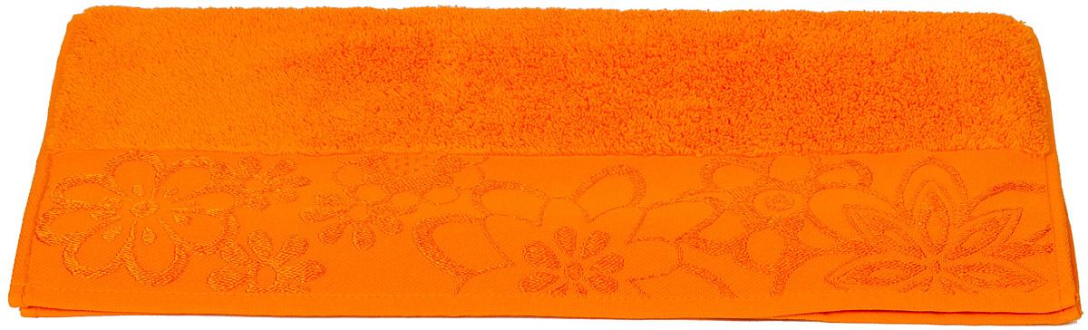 Полотенце махровое Hobby Home Collection Dora, цвет: оранжевый, 70х140 см1501000450Полотенца марки Хобби уникальны и разрабатываются эксклюзивно для данной марки. При создании коллекции используются самые высокотехнологичные ткацкие приемы. Дизайнеры марки украшают вещи изысканным декором. Коллекция линии соответствует актуальным тенденциям, диктуемым мировыми подиумами и модой в области домашнего текстиля.
