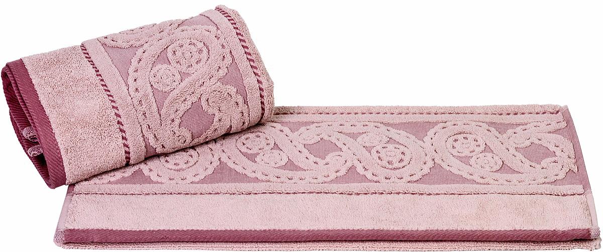 Полотенце Hobby Home Collection Hurrem, цвет: розовый, 70 х 140 см1501000494Полотенце Hobby Home Collection Hurrem выполнено из 100% хлопка. Изделие отлично впитывает влагу, быстро сохнет, сохраняет яркость цвета и не теряет форму даже после многократных стирок. Такое полотенце очень практично и неприхотливо в уходе. А простой, но стильный дизайн полотенца позволит ему вписаться даже в классический интерьер ванной комнаты.