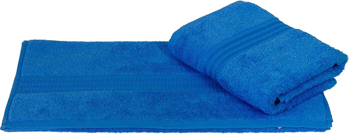 Полотенце Hobby Home Collection Rainbow, цвет: голубой, 70 х 140 см1501000554Полотенце Hobby Home Collection Rainbow выполнено из 100% хлопка. Изделие отлично впитывает влагу, быстро сохнет, сохраняет яркость цвета и не теряет форму даже после многократных стирок. Такое полотенце очень практично и неприхотливо в уходе. А простой, но стильный дизайн полотенца позволит ему вписаться даже в классический интерьер ванной комнаты.