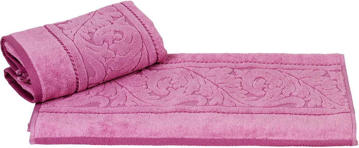 Полотенце Hobby Home Collection Sultan, цвет: розовый, 50 х 90 см1501000588Полотенце Hobby Home Collection Sultan выполнено из 100% хлопка. Изделие отлично впитывает влагу, быстро сохнет, сохраняет яркость цвета и не теряет форму даже после многократных стирок. Такое полотенце очень практично и неприхотливо в уходе. А простой, но стильный дизайн полотенца позволит ему вписаться даже в классический интерьер ванной комнаты.