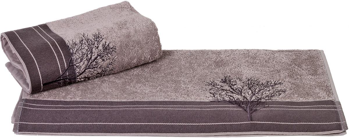 Полотенце Hobby Home Collection Infinity, цвет: серый, 50 х 90 см1501000785Полотенце Hobby Home Collection Infinity выполнено из 100% хлопка. Изделие отлично впитывает влагу, быстро сохнет, сохраняет яркость цвета и не теряет форму даже после многократных стирок. Такое полотенце очень практично и неприхотливо в уходе. А простой, но стильный дизайн полотенца позволит ему вписаться даже в классический интерьер ванной комнаты.