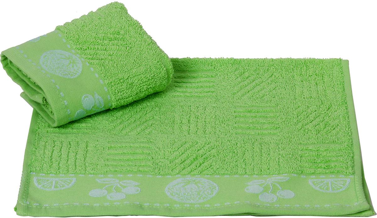 """Махровое полотенце Hobby Home Collection """"Meyve Bahcesi"""" уникально и разрабатывалось эксклюзивно для данной марки. При его создании использовались самые высокотехнологичные ткацкие приемы. Полотенце украшено изысканным декором. Выполнено из махровой ткани. Размер: 30 х 50 см."""