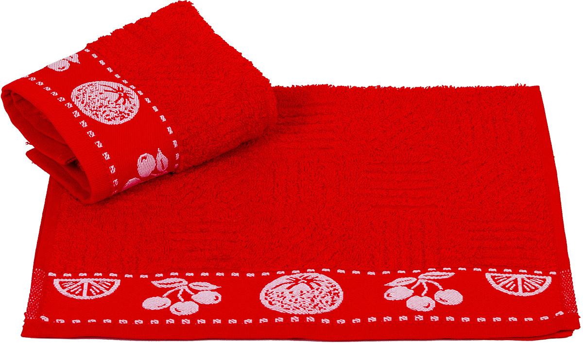 Полотенце кухонное Hobby Home Collection Meyve Bahcesi, цвет: красный, 30 х 50 см07599-429Кухонное полотенце Hobby Home Collection Meyve Bahcesi выполнено извысококачественного 100% хлопка и предназначено для использования на кухне или в столовой. Такое полотенце станет отличным вариантом для практичной и современной хозяйки.
