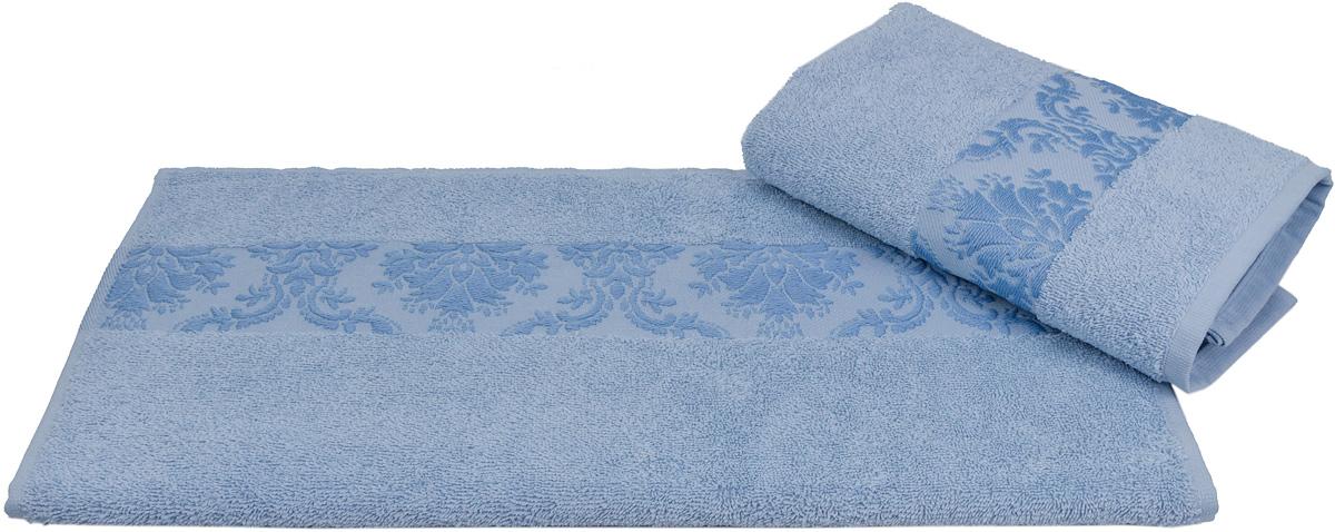 Полотенце Hobby Home Collection Ruzanna, цвет: голубой, 50 х 90 см1501001166Полотенце Hobby Home Collection Ruzanna выполнено из 100% хлопка. Изделие отлично впитывает влагу, быстро сохнет, сохраняет яркость цвета и не теряет форму даже после многократных стирок. Такое полотенце очень практично и неприхотливо в уходе. А простой, но стильный дизайн полотенца позволит ему вписаться даже в классический интерьер ванной комнаты.