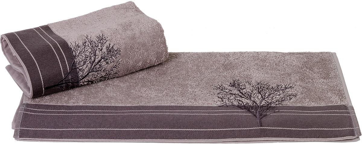 """Махровое полотенце Hobby Home Collection """"Infinity"""" уникально и разрабатывалось эксклюзивно для данной марки. При его создании использовались самые высокотехнологичные ткацкие приемы. Полотенце украшено изысканным декором. Выполнено из махровой ткани. Размер: 70 х 140 см."""
