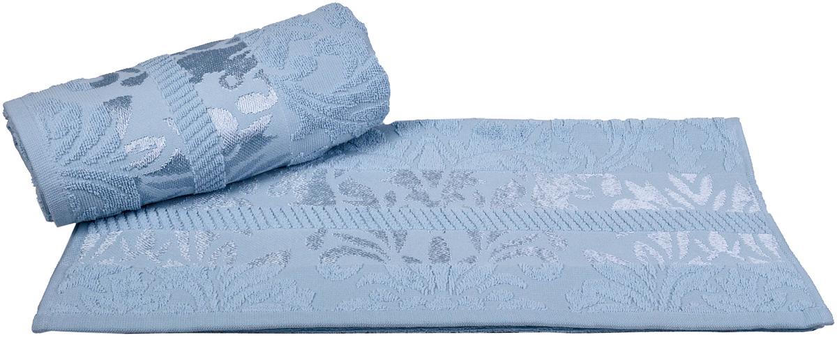 Полотенце Hobby Home Collection Versal, цвет: голубой, 70 х 140 см1607000101Полотенце Hobby Home Collection Versal выполнено из 100% хлопка. Изделие отлично впитывает влагу, быстро сохнет, сохраняет яркость цвета и не теряет форму даже после многократных стирок.Такое полотенце очень практично и неприхотливо в уходе. А простой, но стильный дизайн полотенца позволит ему вписаться даже в классический интерьер ванной комнаты.