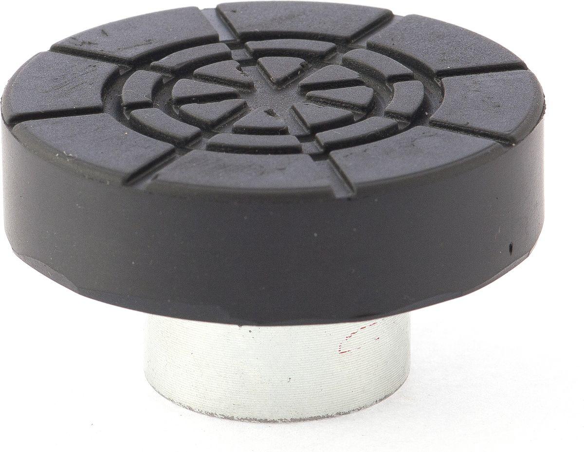 Адаптер Matrix, для бутылочных домкратов, диаметрр штока 2,2 см50907Адаптер Matrix, выполненный из высококачественной стали, снабжен резиновой вставкой. Предназначен для домкратов бутылочного типа. Адаптер осуществляет безопасный подъем автомобиля без риска его повреждения.Диаметр штока: 2,2 см.Диаметр Адаптера: 5,5 см.Высота адаптера: 3 см.