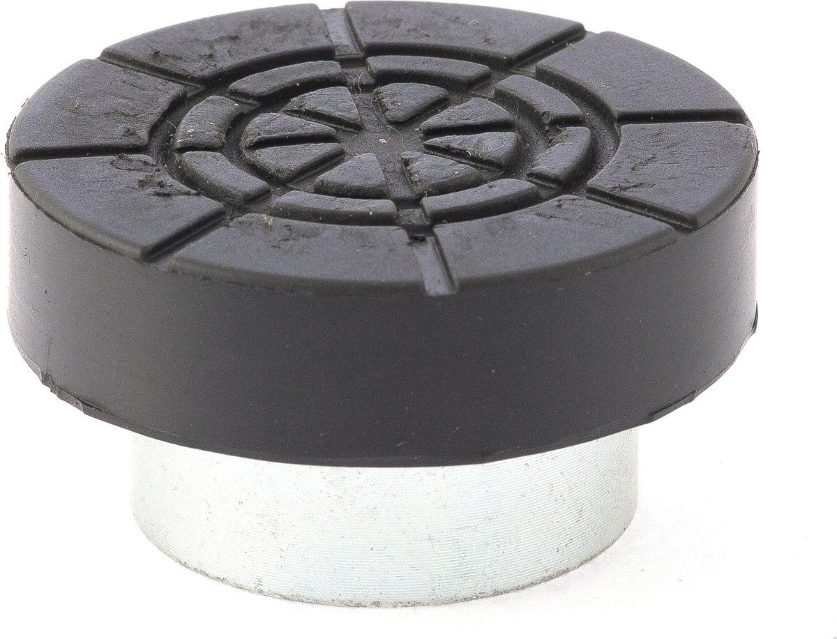 Адаптер Matrix, для бутылочных домкратов, диаметрр штока 3,2 см50909Адаптер Matrix, выполненный из высококачественной стали, снабжен резиновой вставкой. Предназначен для домкратов бутылочного типа. Адаптер осуществляет безопасный подъем автомобиля без риска его повреждения.Диаметр штока: 3,2 см.Диаметр Адаптера: 5,2 см.Высота адаптера: 3 см.