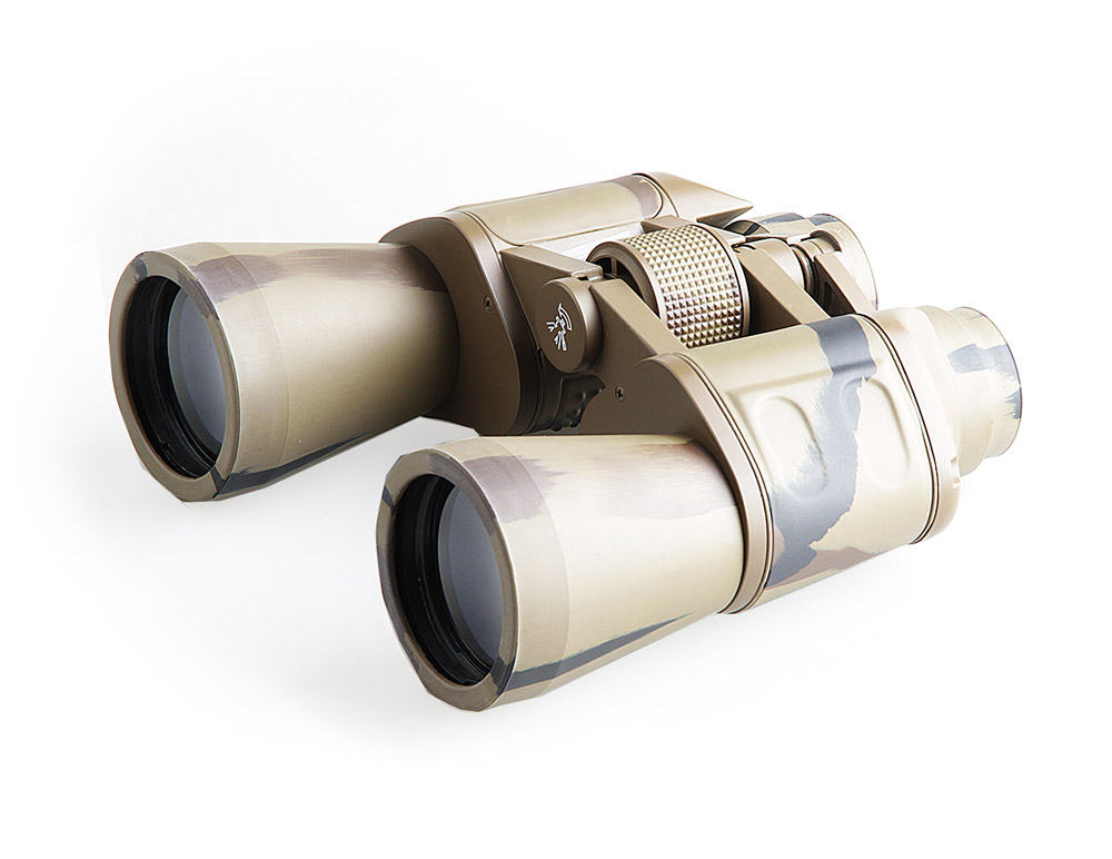 Бинокль Veber Classic, цвет: камуфляж, БПЦ 12x50 VR бинокль bushnell powerview roof 10х25 камуфляж