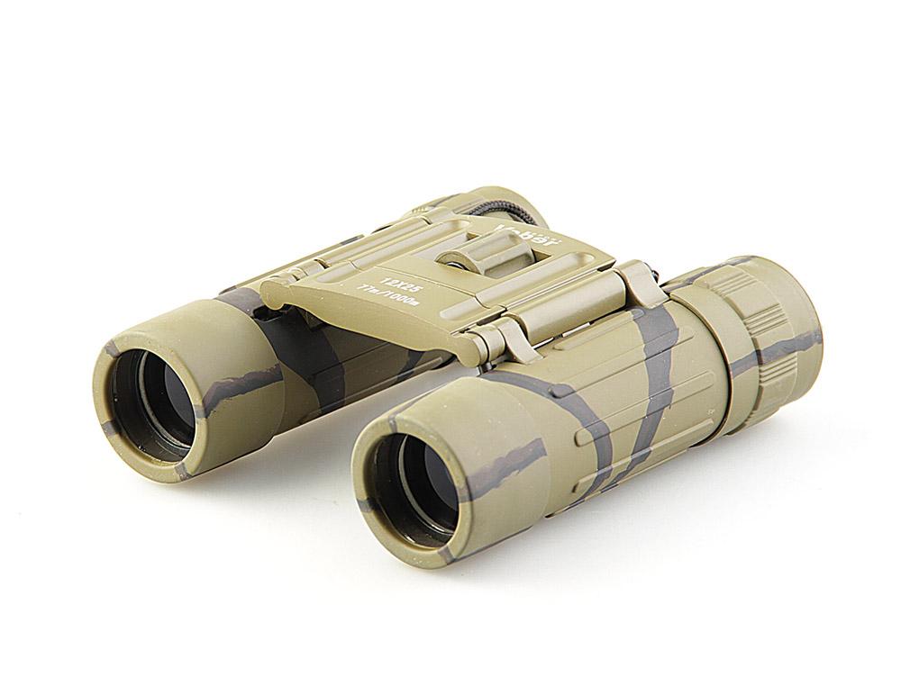 Бинокль Veber Sport, цвет: камуфляж, БН 12x2511010Легкий, «карманного» размера, с центральной фокусировкой с диоптрийной подстройкой. Обрезиненный, металлический корпус, качественное оптическое стекло с просветляющим покрытием.ОПИСАНИЕ Бинокль 12-крат. Разумный компромисс между увеличением, светосилой, весогабаритными характеристиками и ценой.Удобно лежит в руке. Благодаря легкому весу наблюдение можно вести длительное время, но отрывая прибор от глаз. Поэтому биноклю всегда найдется место в кармане куртки или рубашки, в бардачке машины, дамской сумочке или барсетке.Все корпусные детали сделаны из металла. Трубки бинокля (включая окуляры) обклеены тонкой резиной (брызгозащищенное исполнение).ОсобенностиКомпактныйПризмы Roof ВлагозащищенныйПросветляющее покрытие оптических элементовМеталлический обрезиненный корпусКомплектацияБинокльФутлярТкань для протирки оптикиРемешокГарантийный талон и инструкцияХарактеристикиДиапазон рабочих температур, С от -20 до +40Диаметр выходного зрачка, мм 2.1Угловое поле зрения, град. 4.2 Увеличение, крат 12 Zoom нетДиаметр объектива, мм 25Линейное поле зрения (на расстоянии 1000 м), м 80Габаритные размеры, мм 112*100*32Вес, кг 0.200Цвет камуфлированныйМатериал корпуса металлМатериал отделки корпуса обрезиненный корпусБинокль прошел индивидуальную настройку в сервисном центре компании, о чем свидетельствует наклейка с фамилией или номером мастера на корпусе прибора.