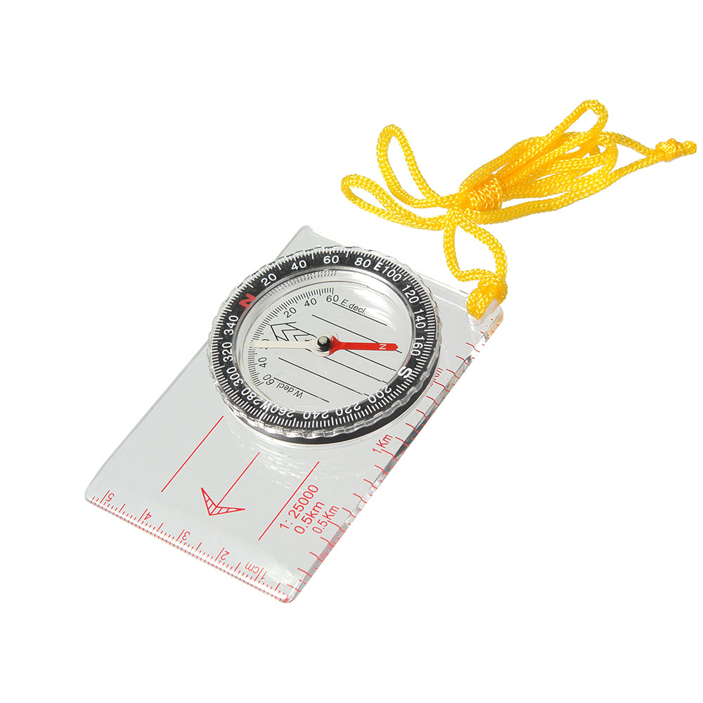 Компас Veber, цвет: белый, DC40-111143Компас для спортивного ориентирования, с линейкой для карт масштабом 1:25000. ОПИСАНИЕКомпас спортивный состоит из основания (планшета) с линейкой для часто используемых масштабов карт 1:25000 (0.5 km), специальные направляющие красные параллельные линии, используемые для движения по азимуту. На планшете укреплена вращающаяся колба с компасом. Внутри капсулы находится магнитная стрелка, на дне капсулы параллельные линии для ориентирования компаса по линиям магнитного меридиана и индексы S, N, W, E для правильной ориентации компаса относительно северного направления. Сверху капсулы находится шкала азимута.Характеристики Цена деления шкалы азимута 2Длительность успокоения магнитной стрелки не более 5 с.Диапазон рабочих температур от -20С до + 30СГабаритные размеры 55х83х10 ммВес 31 г