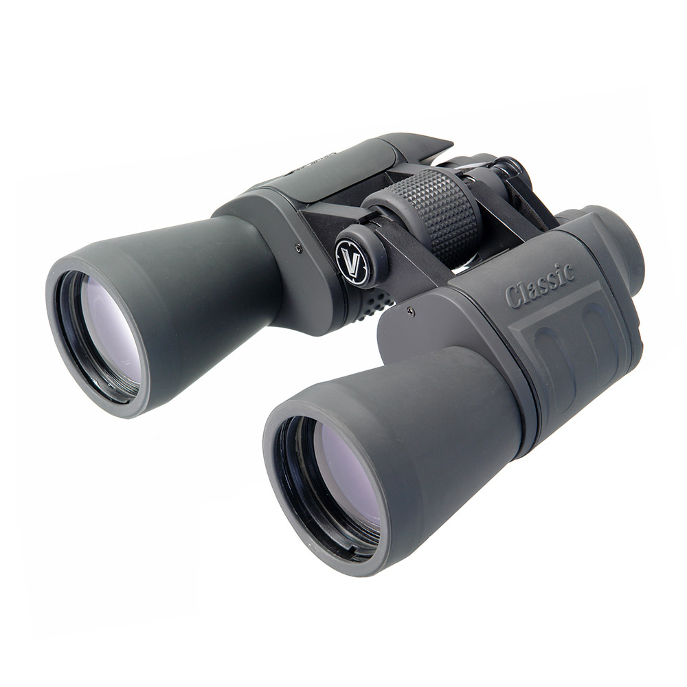 Бинокль Veber Classic, цвет: серый, БПЦ 20x50 VR23907Предназначен для рассматривания в деталях очень удаленных объектов. Вся эргономика подчинена удобству наблюдения с рук. Для длительных наблюдений рекомендуется использовать фотоштатив — компактный (для установки на полку, подоконник) или полноразмерный. Металлический корпус, многослойное трудноистираемое просветляющее покрытие оптики. ОПИСАНИЕПредназначен, в первую очередь, для рассматривания в деталях очень удаленных объектов. Мягкие резиновые наглазники окуляров и эргономичный корпус, широкий барабанчик наводки на резкость позволяет максимально комфортно использовать этот крупный бинокль при наблюдении с рук. Для длительных наблюдений рекомендуется использовать фотоштатив (желательно с ручкой, чтобы сопровождать цель, не прикасаясь к прибору, бинокль крепится к быстросъемной площадке штатива через адаптер).инокль Veber Classic БПЦ 20x50 VR имеет металлический корпус и многослойное, трудностираемое просветляющее покрытие объективов и окуляров.Колесики фокусировки и диоптрийной коррекции вращаются плавно, с дозированным усилием. Перефокусировку на объекты легко и удобно производить даже в перчатках.Особенности Призмы PorroМеталлический корпус Многослойное, трудностираемое просветляющее покрытие объективов и окуляров Центральная фокусировка Возможность установки на штатив (через адаптер) Отделка корпуса резиной (VR) Комплектация Кейс Защитные крышки Ткань для протирки оптики Шейный ремень Руководство по эксплуатации Характеристики Минимальная дистанция фокусировки, м 9Диаметр выходного зрачка, мм 2.5Угловое поле зрения, град. 3.2Увеличение, крат 20Zoom нетДиаметр объектива, мм 50Линейное поле зрения (на расстоянии 1000 м), м 56Габаритные размеры, мм 170*65*185Диапазон рабочих температур, C от -10 до +40Вес, кг 0.815Цвет черныйМатериал корпуса алюминиевый сплавМатериал отделки корпуса резинаБинокль прошел индивидуальную настройку в сервисном центре компании, о чем свидетельствует наклейка с фамилией или номером маст