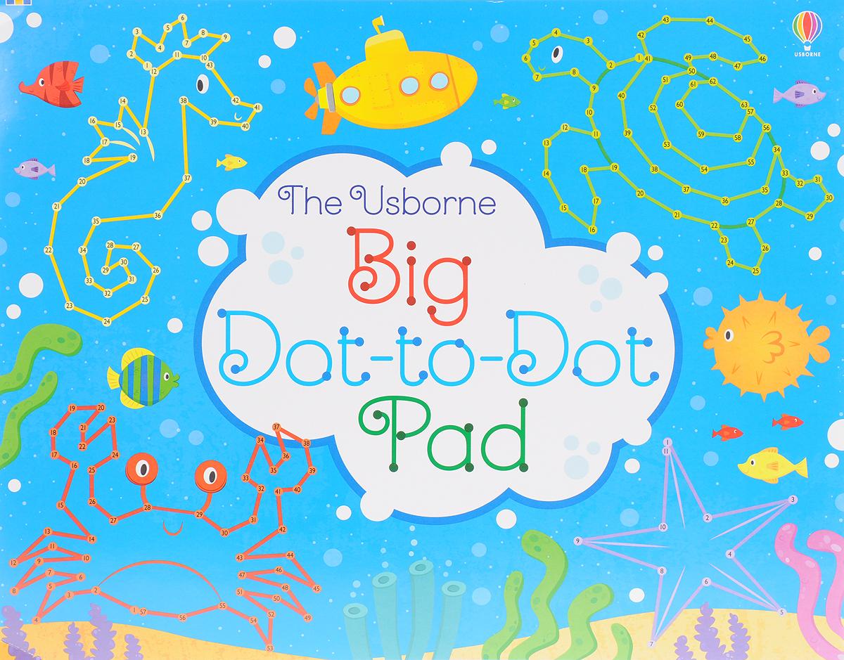 Big Dot-to-Dot Pad nature dot to dot colouring
