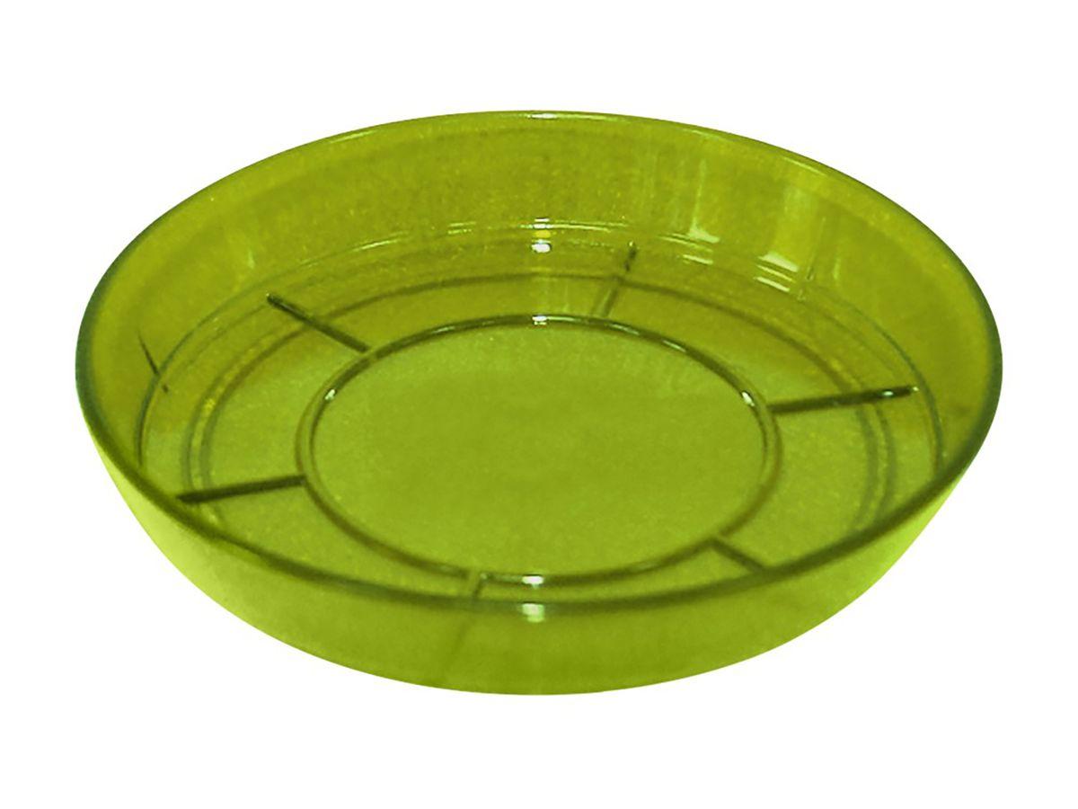 Поддон JetPlast Шарм, цвет: зеленый, диаметр 15 см4612754050970Поддон Шарм изготовлен из высококачественного пластика. Изделие предназначено для стока воды. Диаметр: 15 см.