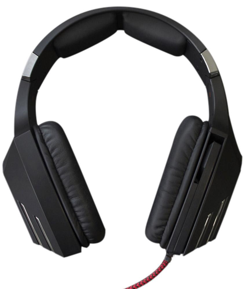Qcyber Dragon 2, Black игровые наушникиQC-01-005DV01Игровая гарнитура Qcyber Dragon Black предлагает пользователю насладиться всеми преимуществами виртуализированного звука 7.1. Восьмиканальная система пространственного звучания, обычно идущая в комплекте с дорогими зарубежными устройствами, теперь доступна каждому владельцу гарнитуры Qcyber Dragon Black. Побеждать с этой гарнитурой станет проще, потому что вы сможете точнее ориентироваться в виртуальном мире и слышать, с какой стороны к вам пытается подобраться противник. Звуковая карта, необходимая для виртуализации звука, установлена прямо в гарнитуру, остается только подсоединить Dragon к USB-разъему и установить драйвера!Микрофон Dragon – узконаправленный и имеет функцию шумоподавления, а это означает, что ваши соратники на другом конце провода будут слышать вас и только вас. Управление микрофоном осуществляется одним движением руки: для того, чтобы выключить его, достаточно просто повернуть держатель!