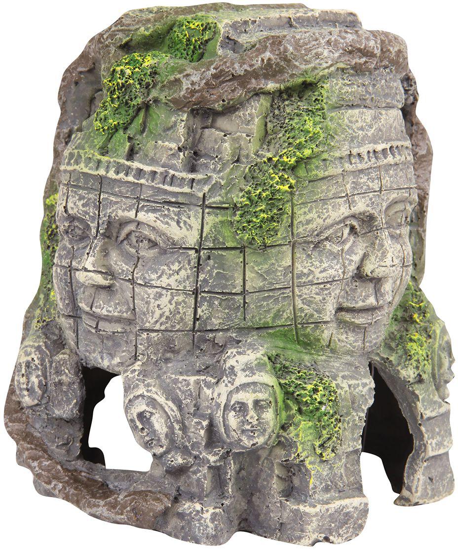 Декорация для аквариума Dezzie Руины. Всевидящее око, 11 х 11 х 12,5 см декорация для аквариума акваэль коряга средняя