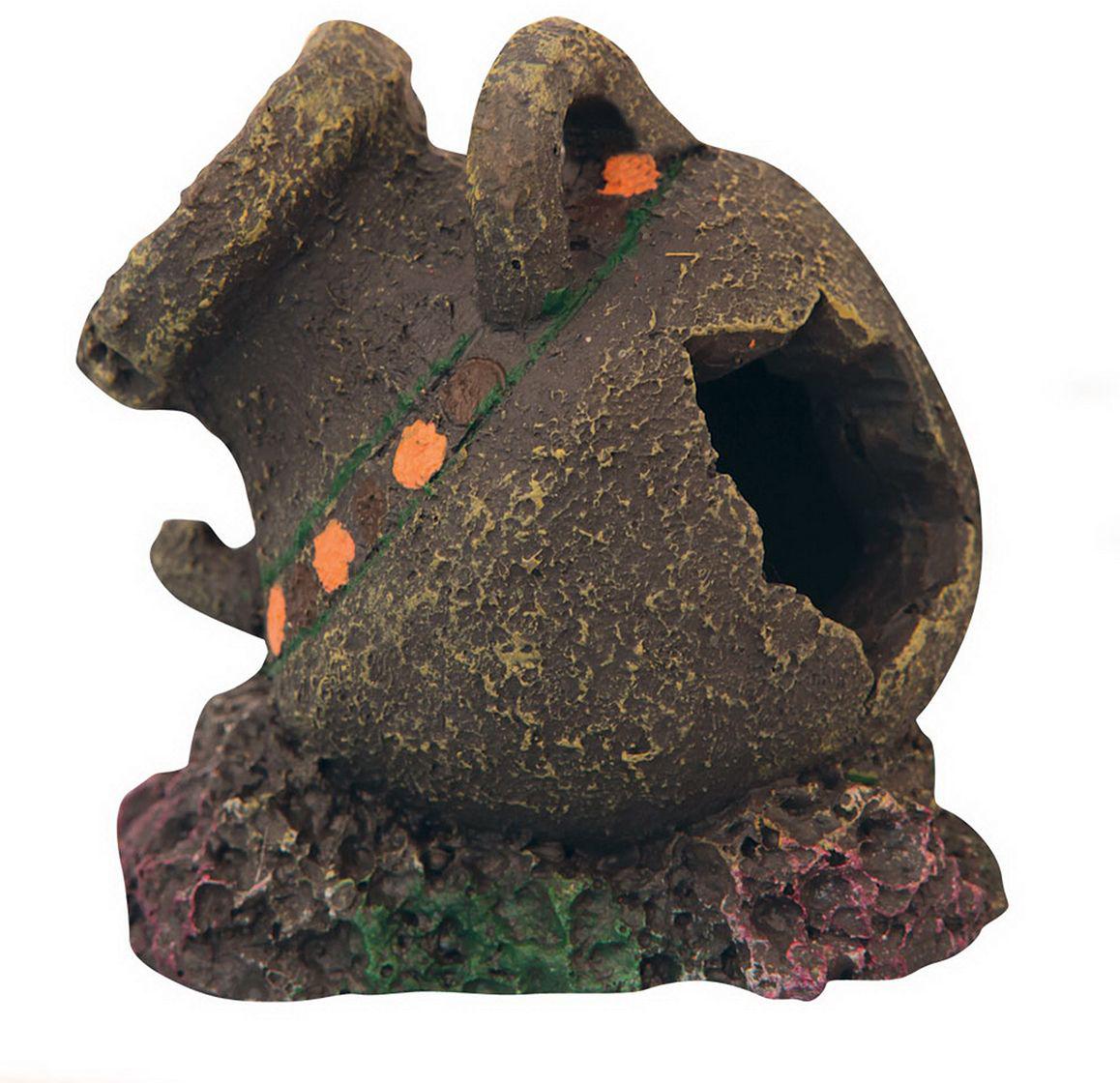 Аквадекор Dezzie Кувшин. Вдохновение, 9х8х7 см бочка для аквариума dezzie винный погреб