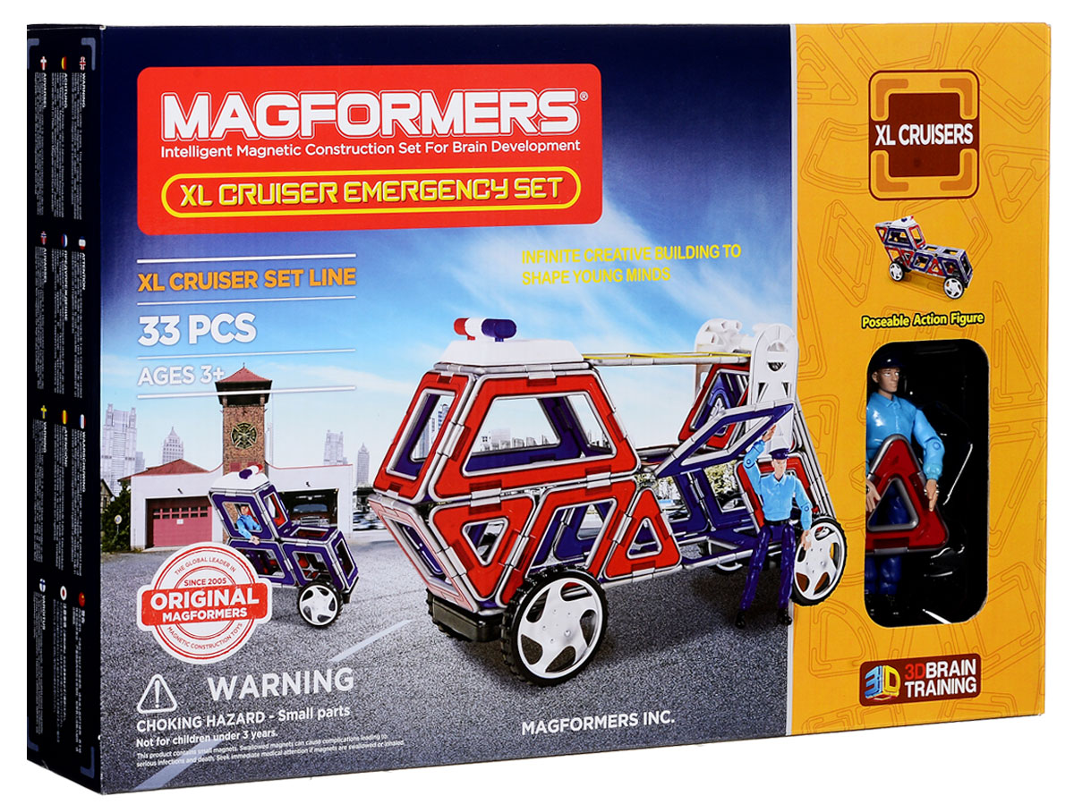Magformers Магнитный конструктор XL Crusers Службы спасения библия пересказанная детям старшего возраста