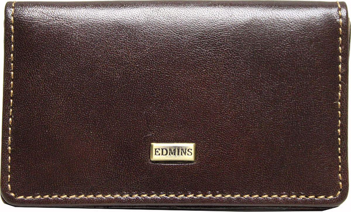 Визитница Edmins, цвет: коричневый. 2678 ML ED -  Визитницы