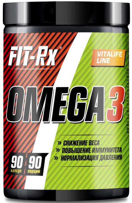 Омега 3 Fit-Rx Omega 3, 90 капсул00014Организм не в состоянии самостоятельно вырабатывать жирные кислоты, основным их источником для человека является пища и, в первую очередь, жирная морская рыба. Один из способов пополнить нехватку кислот Омега 3 – это регулярный прием рыбного жира в капсулах. Незаменимые жирные кислоты Омега 3 обладают целым рядом положительных свойств.Состав: жир океанических рыб, оболочка (желатин, глицерин (пластификатор), вода), витамин Е, смесь токоферолов (антиокислитель).