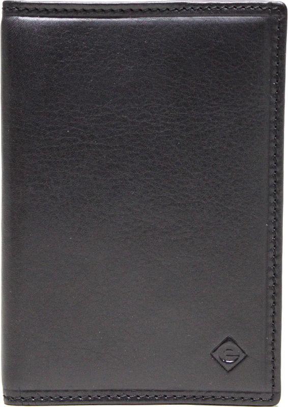 Обложка для паспорта Edmins, цвет: черный. 13843/1N SOF ED зонты edmins зонт