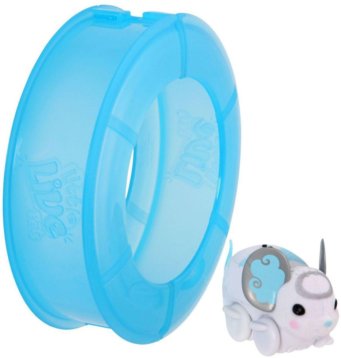 Little Live Pets Интерактивная игрушка Мышка в колесе цвет белый григорий лепс парус live