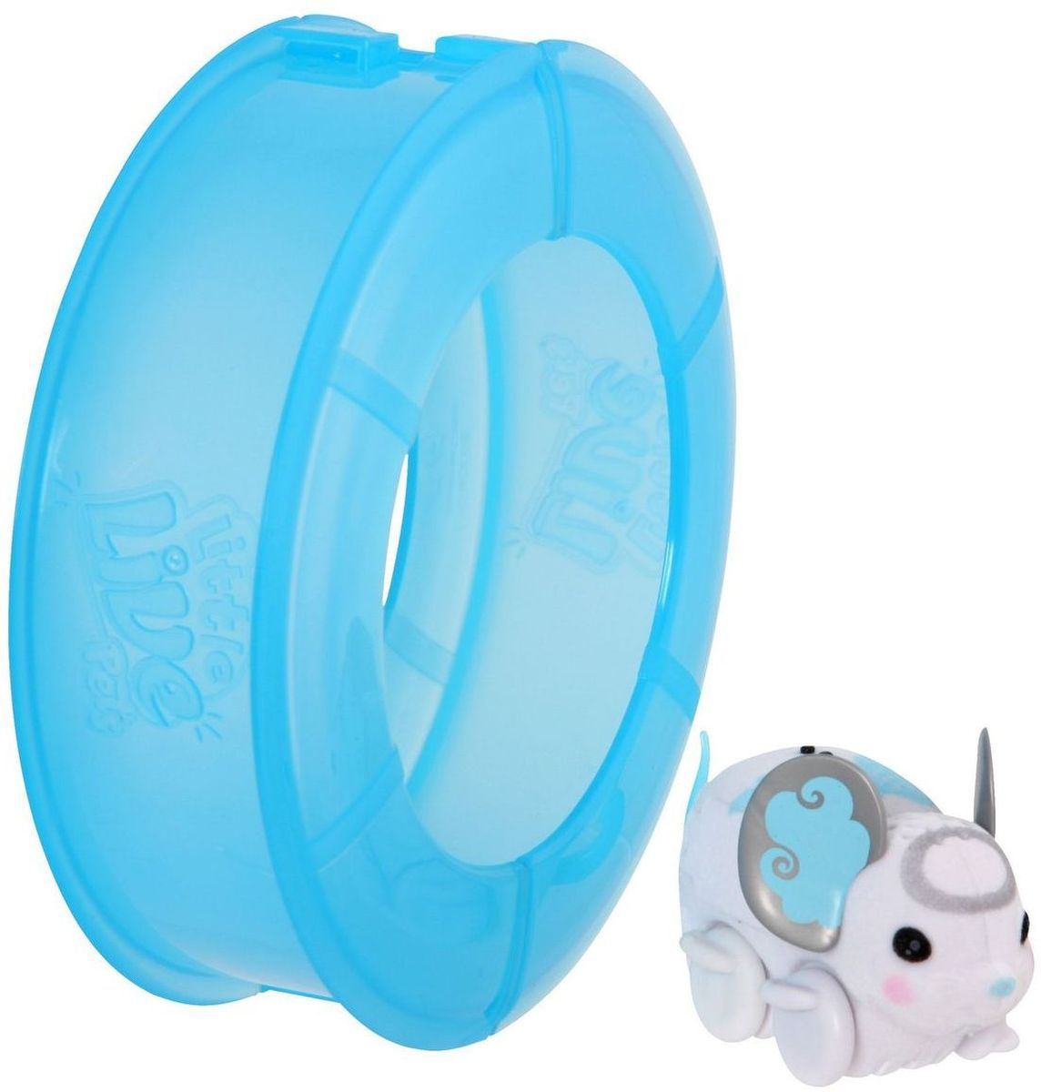 Little Live Pets Интерактивная игрушка Мышка в колесе цвет белый - Интерактивные игрушки