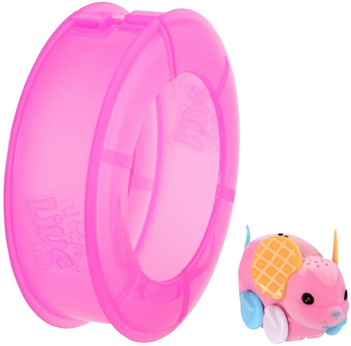 Little Live Pets Интерактивная игрушка Мышка в колесе цвет розовый григорий лепс парус live
