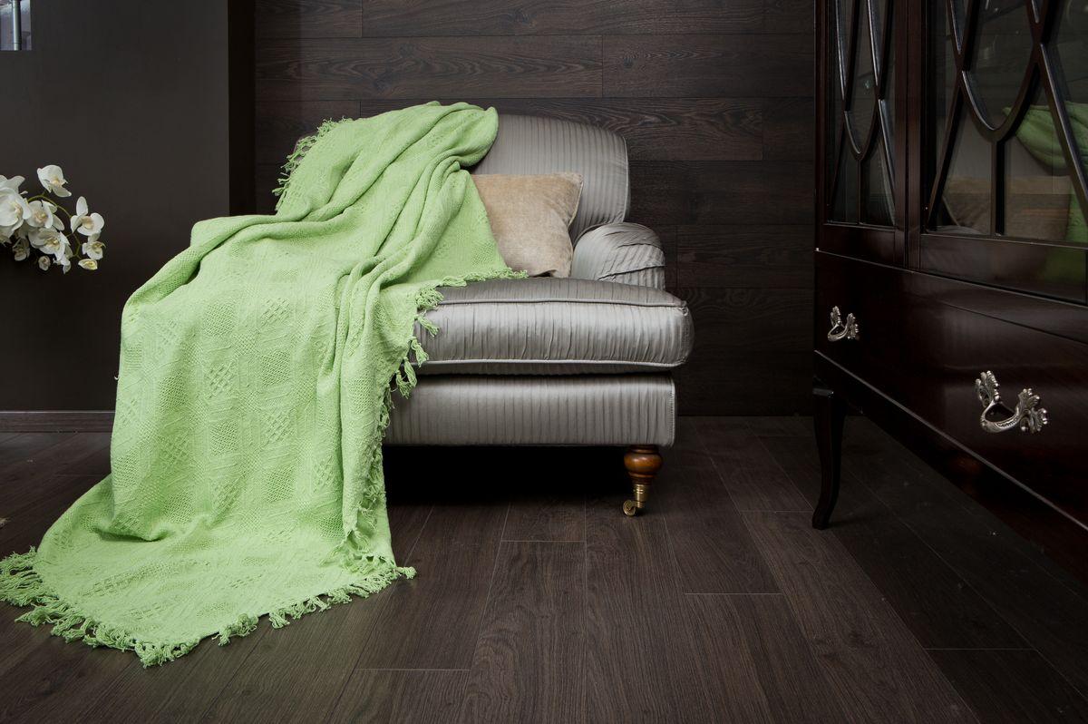 Покрывало Arloni Кокос, цвет: зеленый чай, 180 х 220 см2030.12Покрывало Arloni Кокос прекрасно оформит интерьер гостиной или спальни. Изготовлено из экологически чистого материала - 100% хлопка, поэтому подходит как для взрослых, так и для детей. Натуральные краски абсолютно гипоаллергенны. Покрывало однотонное, яркой расцветки, по краям декорировано кисточками. Хорошо смотрится и на диване, и на большой кровати. Покрывало Arloni не только подарит тепло, но и гармонично впишется в интерьер вашего дома.