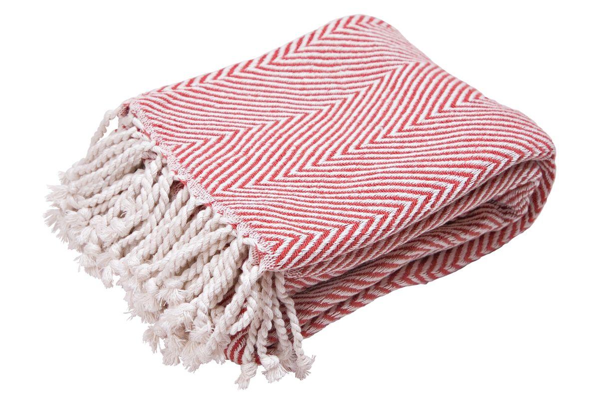 Плед Arloni Финляндия, цвет: красный, 140 х 200 см скатерть arloni arloni mp002xu0du48