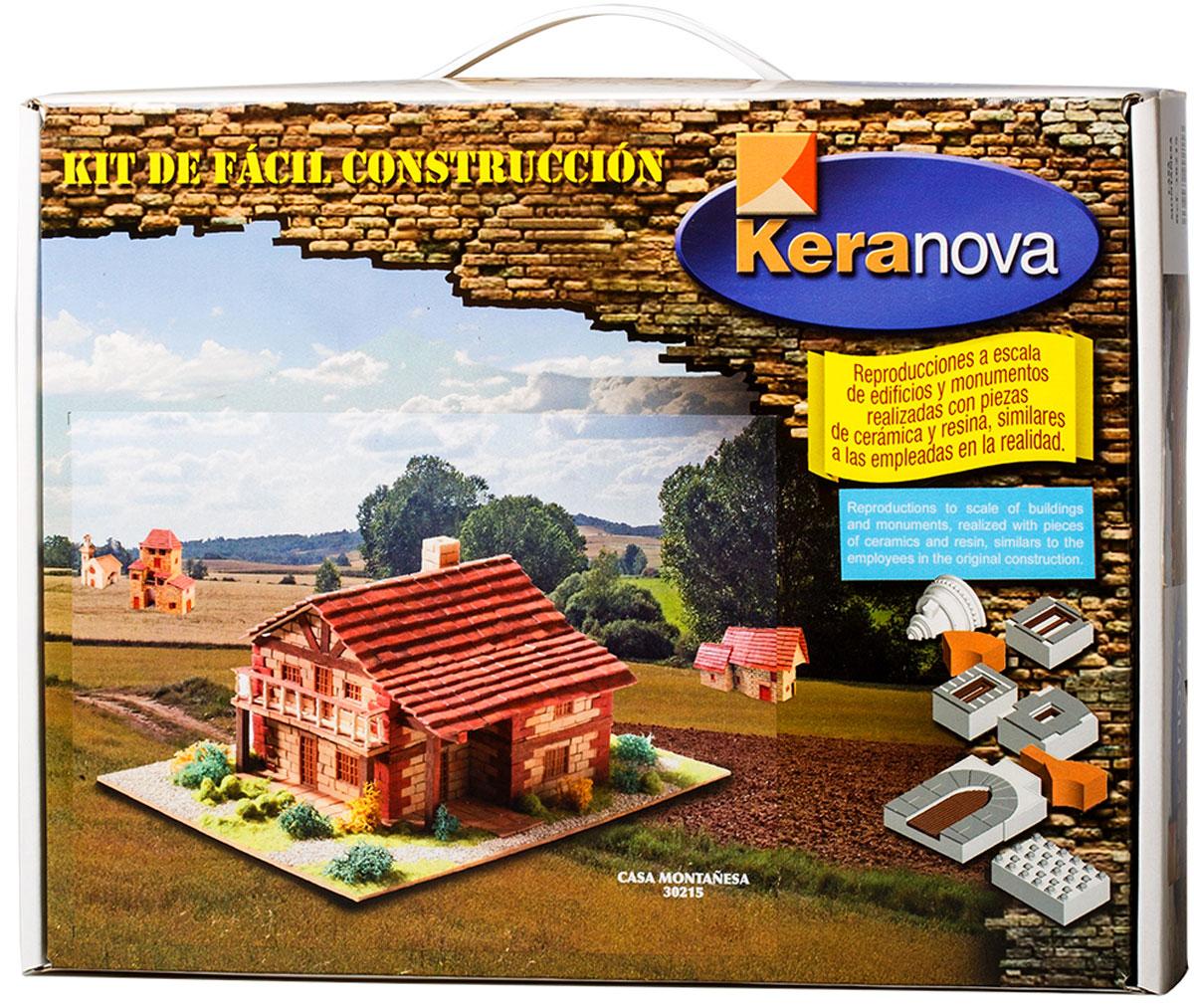 Keranova Конструктор Дом в горах keranova конструктор каталонский деревенский дом 30206