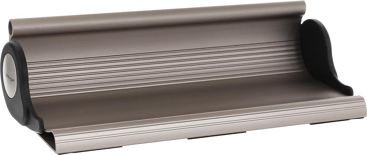 Silwerhof Подставка для канцелярских принадлежностей Light Energy560004-61Подставка для канцелярских принадлежностей Silwerhof Light Energy - это прекрасное воплощение смелых идей для ценителей модных трендов.Подставка изготовлена из прочного алюминия с оригинальным бронзовым покрытием.Такая подставка станет практичным и функциональным элементом вашего рабочего стола и отлично впишется в интерьер офиса.
