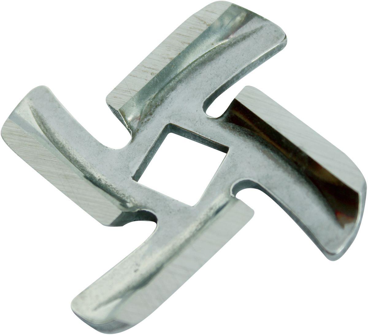 Euro Kitchen EUR-KNG Braun нож для мясорубкиEUR-KNG BRAUNНож Euro Kitchen EUR-KNG предназначен для работы с электрическими мясорубками Braun. Он с легкостью заменит фирменную деталь, не уступив ей по качеству и сроку службы. Высокая производительность и долгий срок службы современных электрических и ручных мясорубок зависят, в первую очередь, от режущих механизмов и их выработки. Своевременная профилактика и замена режущих и вспомогательных элементов способствуют уменьшению нагрузки на узлы и другие механизмы, гарантируя долгую и качественную работу вашей мясорубки.