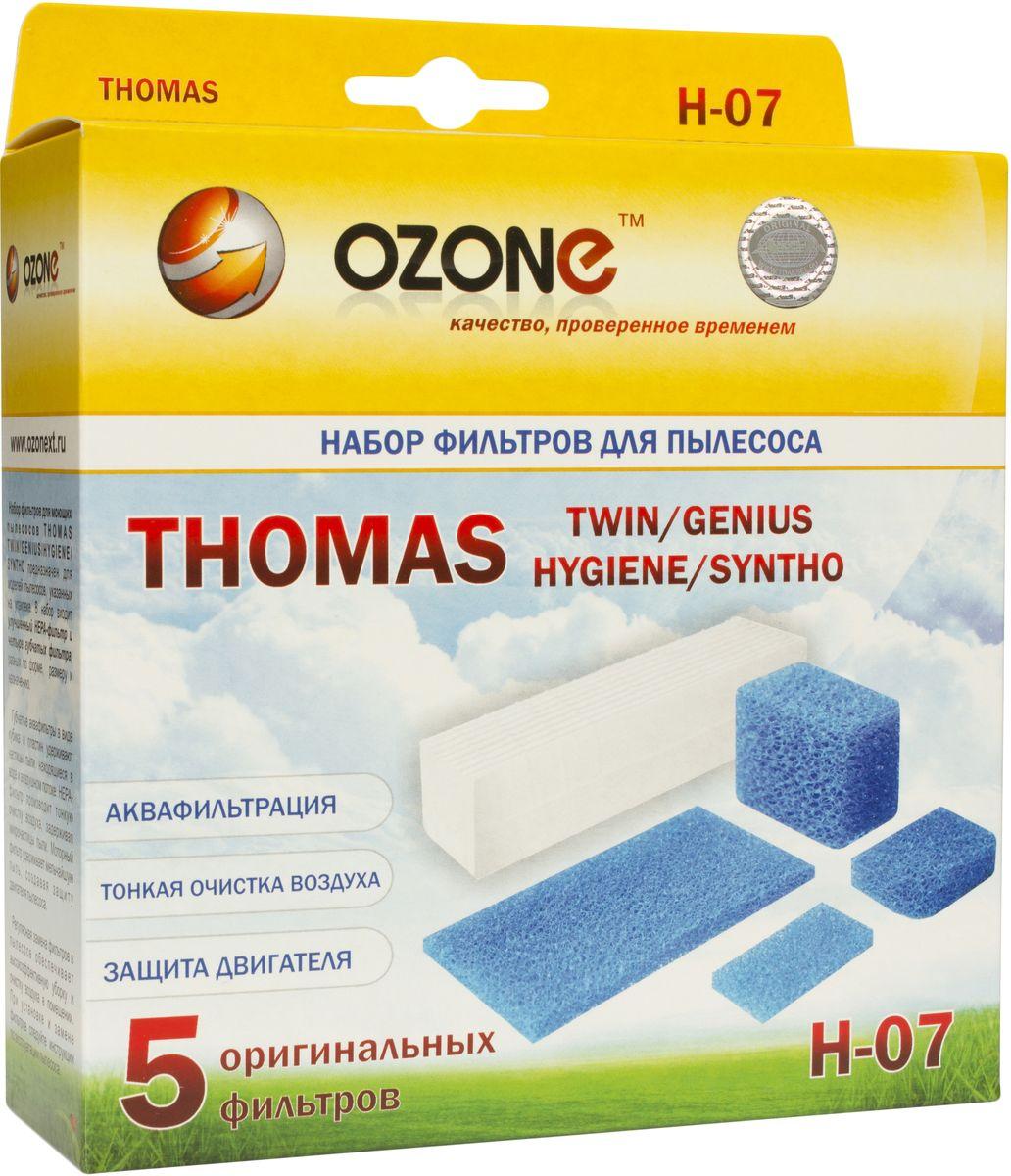 Ozone H-07 набор фильтров для пылесосов ThomasH-07HEPA фильтр Ozone microne H-07 высокоэффективной очистки предназначен для завершающей очистки воздуха в помещении, которое требует высокое качество воздуха, например, медицинских помещений. Фильтр состоит из мелкопористых материалов, что служит эффективному задерживанию частиц размером до 0,3 мкм. Фильтры HEPA последнего поколения имеют степень очистки воздуха около 95-97%. Фильтры не подлежат к промывке, а значит, они являются одноразовыми.Уважаемые клиенты! Обращаем ваше внимание на то, что упаковка может иметь несколько видов дизайна. Поставка осуществляется в зависимости от наличия на складе.