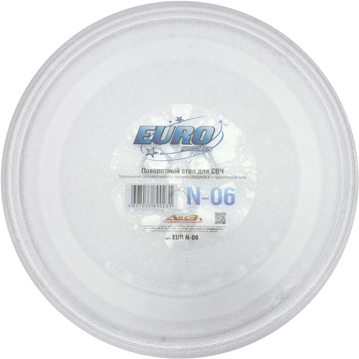 Euro Kitchen N-06 тарелка для СВЧ bauknecht wcmc 64523