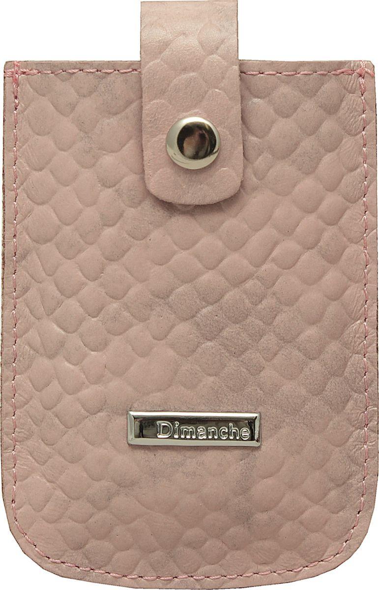 Визитница женская Dimanche, цвет: пепельно-розовый. 283/59 сумка dimanche dimanche di042bmuwm22